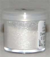 "DP-40 ""Ultra Silver Sparkle"" (Silver Glitter) Platinum Dust.  FDA Approved.  2 gram container"