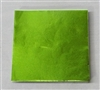 F458 Lime Foil 4 in. x 4 in. Qty 125 sheets