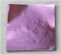 F461 Lavender Foil 4 in. x 4 in. Qty 125 sheets