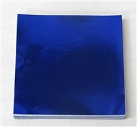 F5435 Dark Blue Foil 4 in. x 4 in. Qty 500 sheets