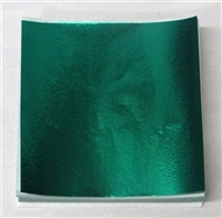 F5459 Dark Forest Green Foil 4 in. x 4 in. Qty 500 sheets