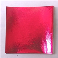 F563 Fuchsia Foil. 3in. x 3in. Qty 500 sheets