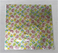 F5664 Easter Print Foil 6in. x 6in. Qty 500 sheets