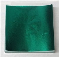 F59 Dark Forest Green Foil 3in. x 3in. Qty 125 sheets