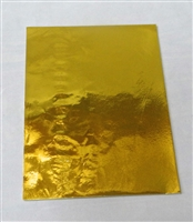 F96 Gold Foil 5 1/2in. X 7 1/4in. Qty 125 sheets