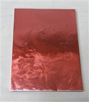 F97 Pink Foil 5 1/2in. X 7 1/4in. Qty 125 sheets