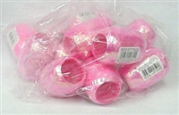 IRE-21 Iridescent Pink Ribbon 3/16in. x 66ft. Quantity 12