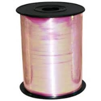 "IRS-21 Light Pink Iridescent ribbon spool 3/16"" x 100yds."