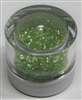 Leaf Green Jewel Dust  Food Grade 4 gram container. Disco Dust
