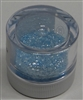Pastel Blue Jewel Dust  Food Grade 4 gram container. Disco Dust