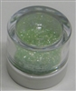 Pastel Green Jewel Dust  Food Grade 4 gram container. Disco Dust