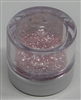 Pastel Pink Jewel Dust  Food Grade 4 gram container. Disco Dust