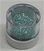 Sage Green Jewel Dust  Food Grade 4 gram container. Disco Dust