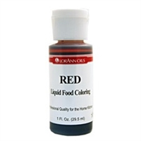 LFC-08 LorAnn Oils Red Liquid Food Coloring , 1 ounce