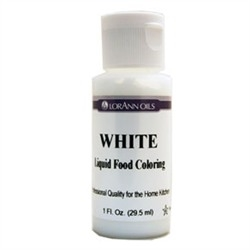 LFC-10 LorAnn Oils White Liquid Food Coloring , 1 ounce