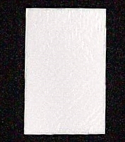 PD-10  White candy pad (fits 1 lb. rectangle boxes) 5 7/8in. x 9 1/8in. Quantity 100