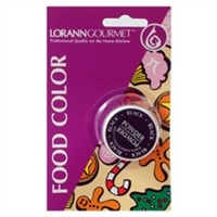PFC-01 LorAnn Oils Black Powder Food Coloring , 1/2 ounce