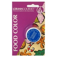 PFC-02 LorAnn Oils Blue Powder Food Coloring , 1/2 ounce