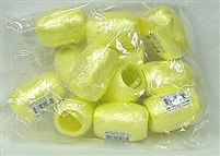 RE-11 Yellow poly ribbon egg 3/16in. x 66ft. Quantity 12