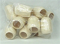 RE-14 Ivory poly ribbon egg 3/16in. x 66ft. Quantity 12