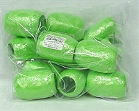 RE-52 Citrus Green poly ribbon egg 3/16in. x 66ft. Quantity 12