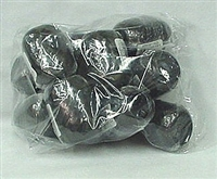 RE-90 Black poly ribbon egg 3/16in. x 66ft. Quantity 12