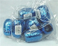 RM-35 Metallic Royal Blue ribbon egg 3/16in. x 66ft. Quantity 12