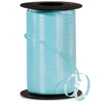 RS-07 Aqua-curling ribbon spool  (4 or more mix any colors $1.50 ea.)  3/16in.x500yds.