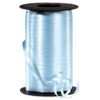 RS-31 Light Blue-curling ribbon spool  (4 or more mix any colors $1.50 ea.) 3/16in. x 500 yds.
