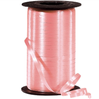 RS-43 Peach-curling ribbon spool (4 or more mix any colors $1.50 ea.) 3/16in. x 500 yds.