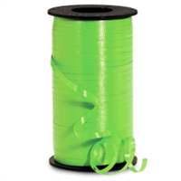 RS-52 Citrus Green-curling ribbon spool  (4 or more mix any colors $1.50 ea.) 3/16in. x 500 yds.