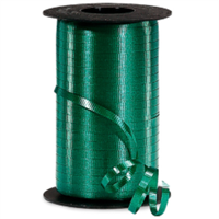 RS-59 Forest Green-curling ribbon spool  (4 or more mix any colors $1.50 ea.) 3/16in. x 500 yds.