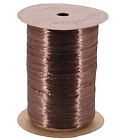 WRP-18 Chocolate Pearlized Wraphia 100 yards