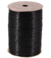 WRP-26 Black Pearlized Wraphia 100 yards