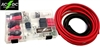 2 GAUGE TOP POST RELOCATION DIY SOLDERING BATTERY CABLE KIT 15'Red/4'Blk