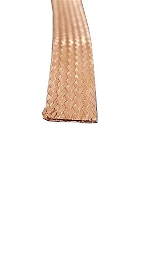 Flat Braid BARE Copper Wire 5/8\