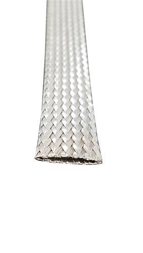 Stainless Steel Flat Braid 1/2\