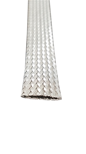 Stainless Steel Flat Braid 1/2