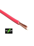 RED 8 GAUGE GXL AUTOMOTIVE HIGH TEMP COPPER WIRE