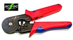 AC/DC WIRE AND SUPPLY Self Adjusting Ratcheting Ferrule Crimper Plier HEXAGON Crimper