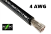 4 Gauge Battery Cable Marine Grade Tinned Copper (per ft) BLACK