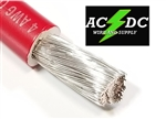 4 Gauge Battery Cable Marine Grade Tinned Copper (per ft) RED