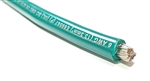 6 Gauge Battery Cable Marine Grade Tinned Copper (per ft) GREEN
