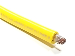 6 Gauge Battery Cable Marine Grade Tinned Copper (per ft) YELLOW