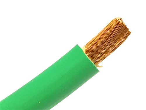 125/' 1//0 HIGHLY FLEXIBLE WELDING WHIP CABLE ORANGE 600V USA MADE EPDM COPPER AWG