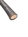 2 AWG EXCELENE BLACK WELDING CABLE