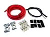 # 2 GAUGE RELOCATION HD Battery TOP POST Terminal Cable Kit 15'R/2'B 2 AWG U.S.A