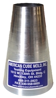 Mini Steel Slump Cone - ACM-32MN
