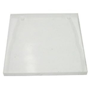 "Clear 12"" Strike Off Plate - ACM-6 SP 12x12 CLEAR"