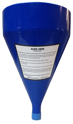 "Flow Cone Only - ACM-FC-01 (1/2"" Orifice)"